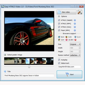 html 5 video tag streaming